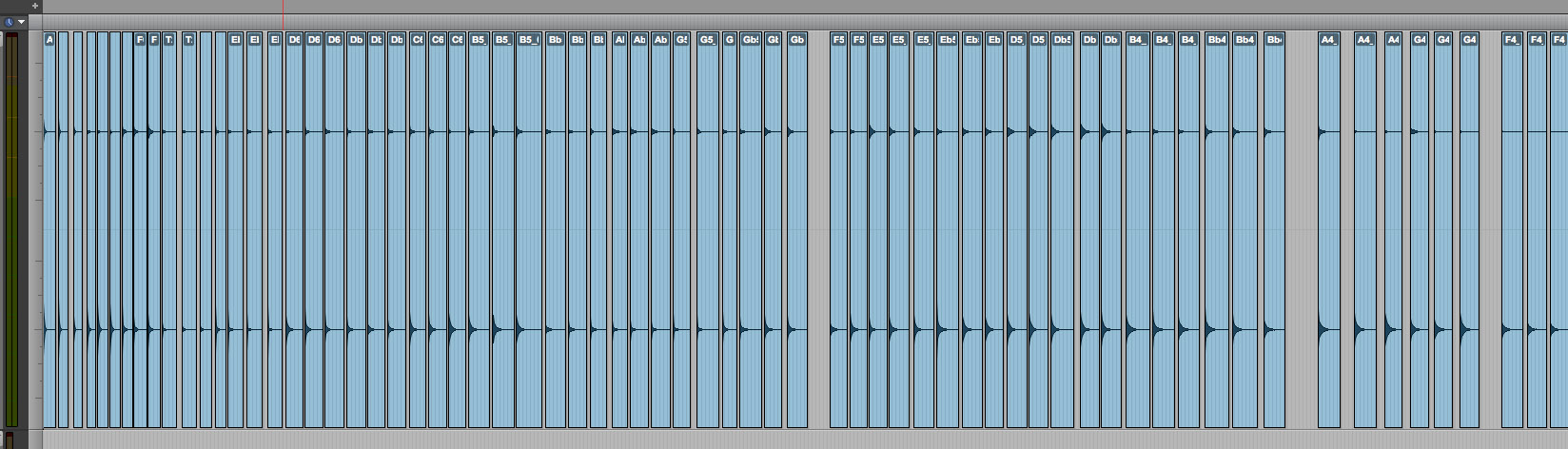 Protools sampling edition