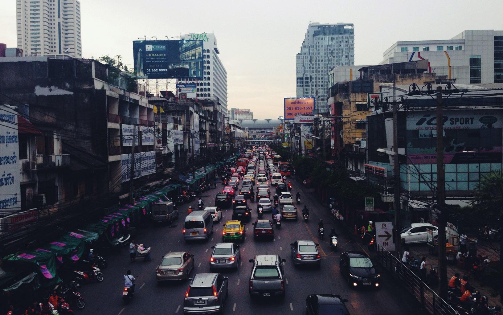 bruit de fond trafic