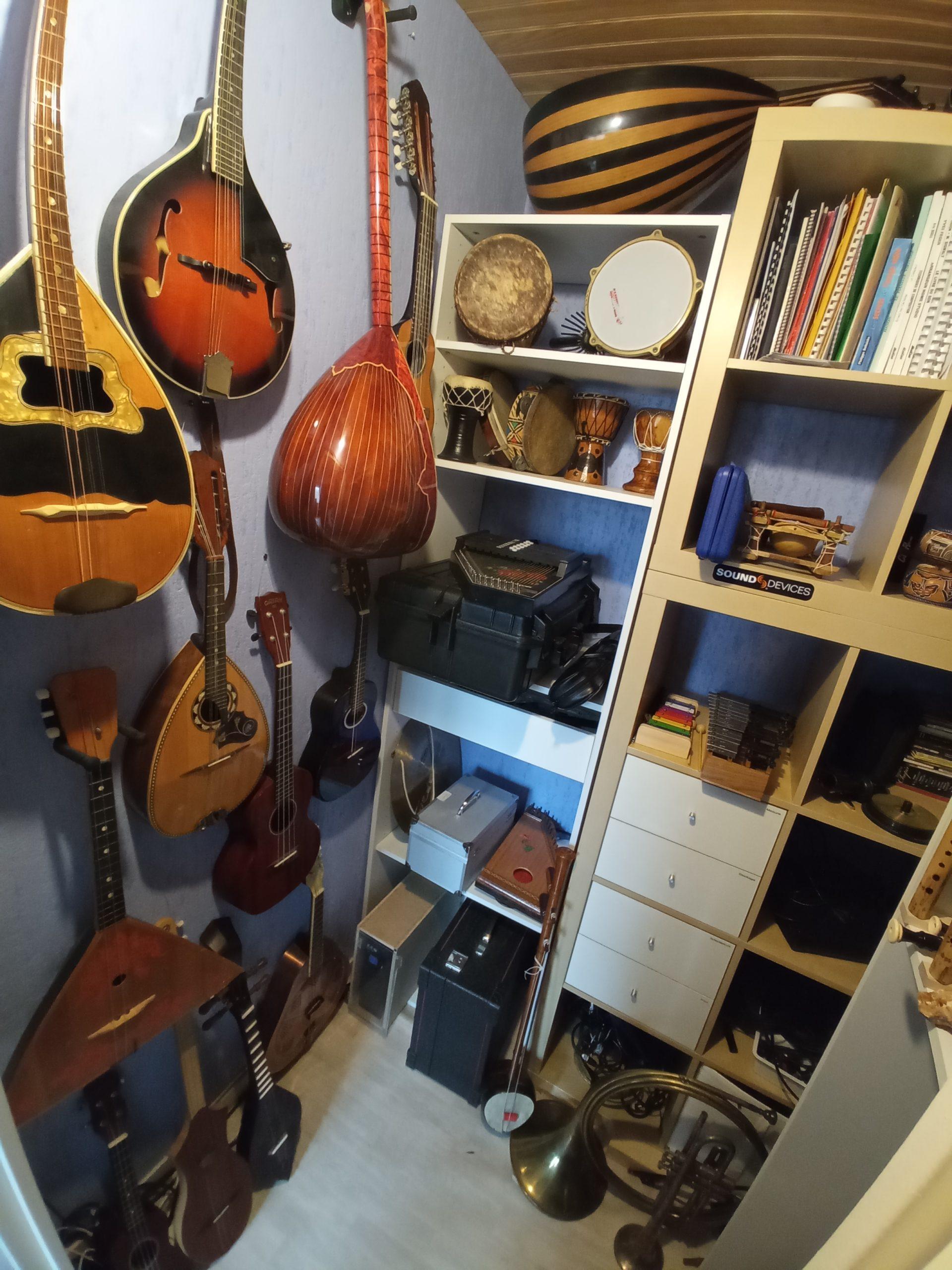 instruments collection sound design